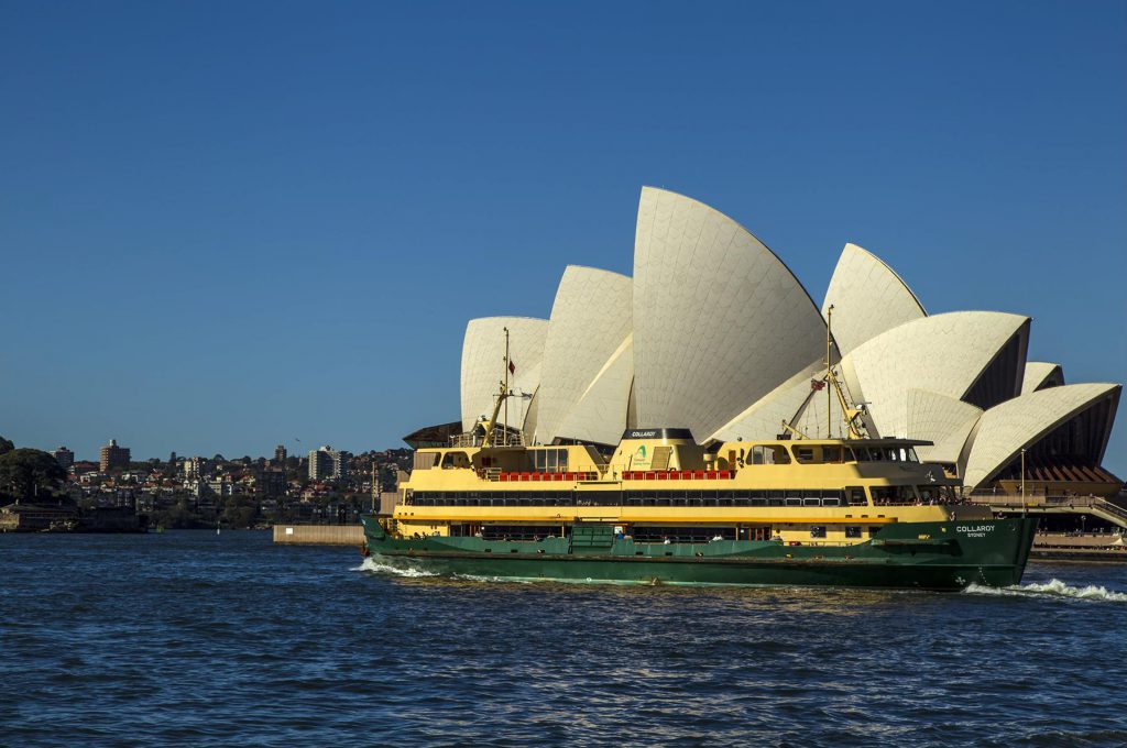 Manly Ferry on Sydney Harbour
